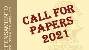 CALL for PAPERS. Cuadernos de Pensamiento Nº 34