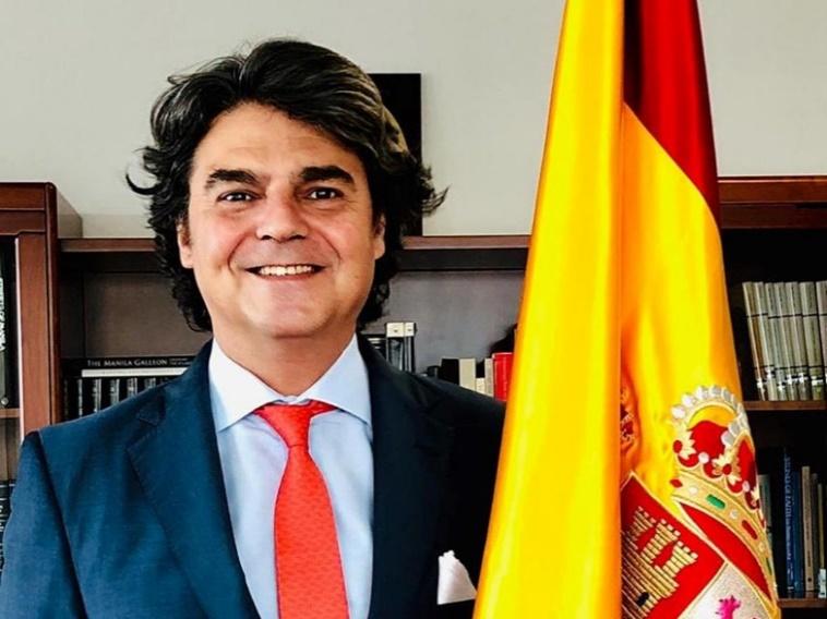 Excmo. Sr. D. Jorge Moragas, Embajador de España en Filipinas